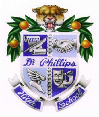 Dr. Phillips High School crest.